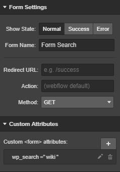 wp_search - поиск по типу записи